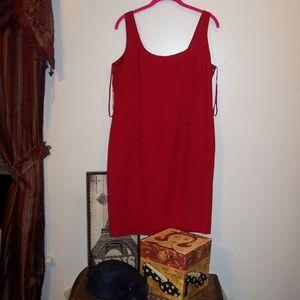 JONES OF NY RED DRESS 12P